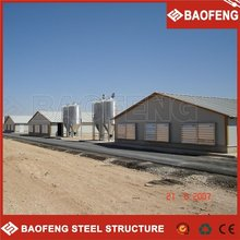 impact resistance luxury and comfortable poultry farm contract grower