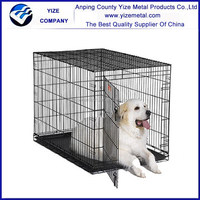 Chain Link Dog Cages For Large Breed/Big Steel Pet Dog Kennel