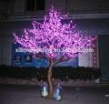 al aire libre decoración de la navidad artificial de flores de cerezo led artificial del tronco del árbol de la decoración