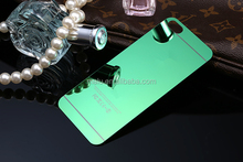 Mirror like electroplating tempered glass for iphone 6 plus 6 5s 5 5c 4 4s screen protector New Arrival