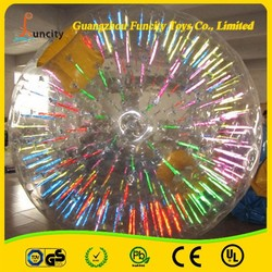 Hot selling and funny inflatable giant human-sized hamster ball