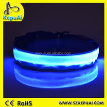 New style flashing side emitting plastic optic fiber straps for safety bicycle riding