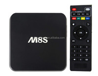 M8 M8S Android 4.4 Kitkat Smart Tv Box 4K Amlogic S812 Quad Core 2Ghz 2G 8G Bluetooth Quad Core M8S