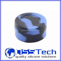 High quality 7ml customized small cloud dab master/ oil dab wax container/ silicone wax and oil container