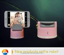 2015 Palm Size Supreme Quality Selfie Robot With Bluetooth Shutter Button in Multi Sence