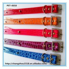 Durable leather dog collar and leash for heavy duty dog