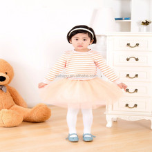 2015 Wholesale Boutique Korean Style young girl sexy dress Baby Girl tutu Dress Outfits Kids School girl dress