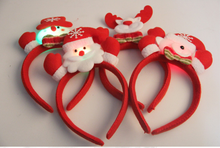 high quality red color cute santa christmas gift christmas ornament SD015