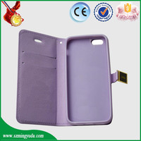 pu leather For iPhone 5 case