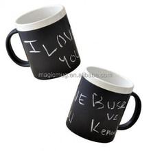 Black Mug For Chalk Writing