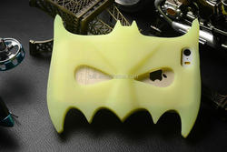 Hot selling for iPhone 6 silicone case cover with bat design, wholesaler