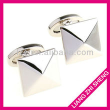 wholesale pyramid cufflinks/mens cufflinks 2012