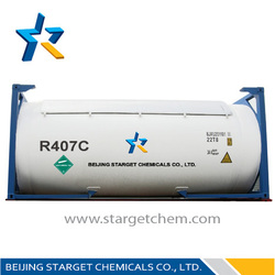 ISO TANK R407c gas on sale