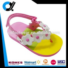 Pro-environment EVA Flip Flop Kid Sandal Shoe for Girls