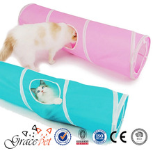 [Grace Pet] Easy Pink and Blue Cat Tunnel, Cat Toys