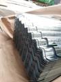 Ppgi / PPGL ondulado / folha / placa de folha de cobertura de aço perfilado construção de parede
