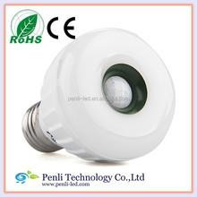 diode lamp e27 5w Warm White Infrared PIR Motion Sensor LED Lamp