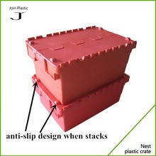 transport&storage slanting insert plastic crates