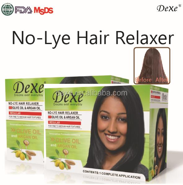 Hair Relaxing Products : Dexe Keratin hair straightening cream,hair rebonding,oem hair relaxer