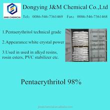High grade mono pentaerythritol 98 for PVC plasticizer industry