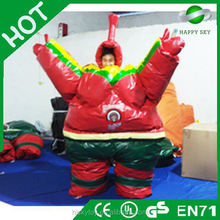 Reduction sale and high quality inflatable sumo suits,sumo wrestler costume,inflatable sumo suits for girl