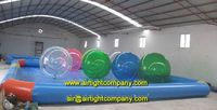 Colorul water ball/ water spheres 2 meters TPU material