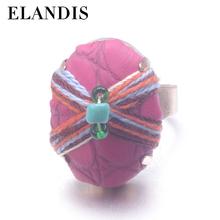 E-elandis novo design simples cuff anel anel barato