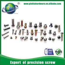 Machine screw types/ small machine screws/types of machine screws