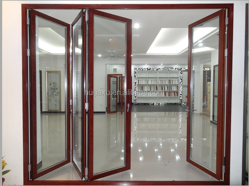 Balc n puerta plegable aluminio puerta plegable de vidrio puertas identificaci n del producto - Puertas plegables de aluminio ...
