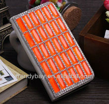 Hot selling luxury pu leather case for iphone 4