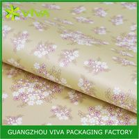 New Product Latest Design clear wrapping plastic paper
