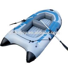 Venta al por mayor 3 personas inflable kayak de pesca/aerodeslizador