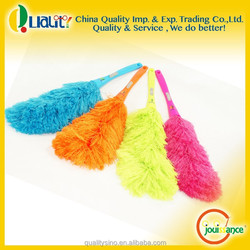 Polyester made handle duster with microfiber