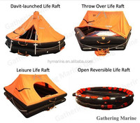 6 Persons SOLAS Customization Cheap Marine Self-righting Liferaft/Inflatable Life Boat
