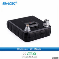 2015 white and black omnitester by SMOK mini volt meter