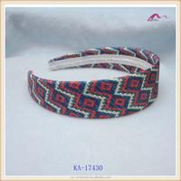 fashion style good pattern bulk fabric wide headbands