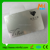 high quality hard plastic business card without business card holder