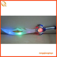 Plastic knight sword toy led flashing medieval swords plastic toys AS02475139-6