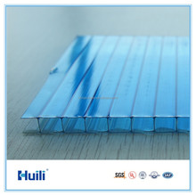 6mm Lake Bule Huili Polycarbonate Roof Sheets Price Per Sheet 2100*5800mm,Roofing Sheet,Plastic Roofing