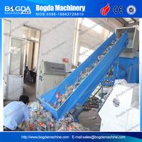 BOGDA plastic PET bottle scrap recycle washing machine price