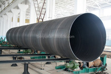 Large diameter X60 spiral welded steel pipe