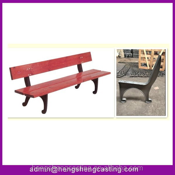 China supplier cast iron bench leg outdoor furniture leg for Cast iron furniture legs for sale