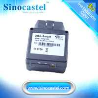 Internal GPS and GSM car location device