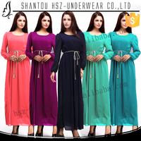 MD10700 Cheap wholesale baju kurung peplum long sleeve islamic maxi dress 2015 design baju kurung moden