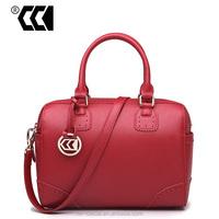 2015 European & American fashion style women cowhide leather handbag