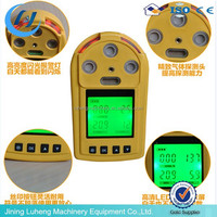 c2h2 handheld Gas Detector/Portable hydrogen multi methane Gas Detector for CH4, CO, O2, H2S