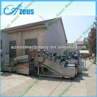 Stainless Steel Low Full Automatic Potato Chips Plant Cost