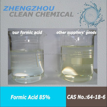 Formic Acid Concentration is about l ~ 18 mg/kg for edible essence