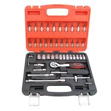 46PCS Color Case Car Auto Repair Tool Box Set