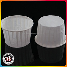 2 ounce Jello Shot Paper Souffle Portion Cups Package of 5000